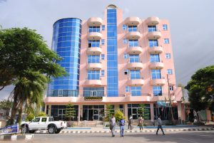 Front View of Yared Zema International Hotel